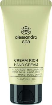 alessandro spa Cream Rich Handcream 75ml