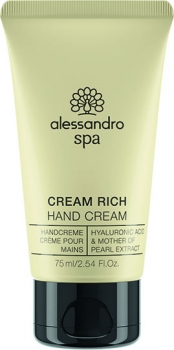alessandro spa Cream Rich Handcream 75ml