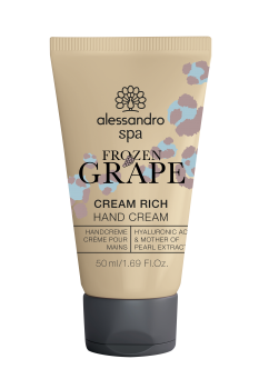 alessandro spa Cream Rich FROZEN GRAPE 50ml